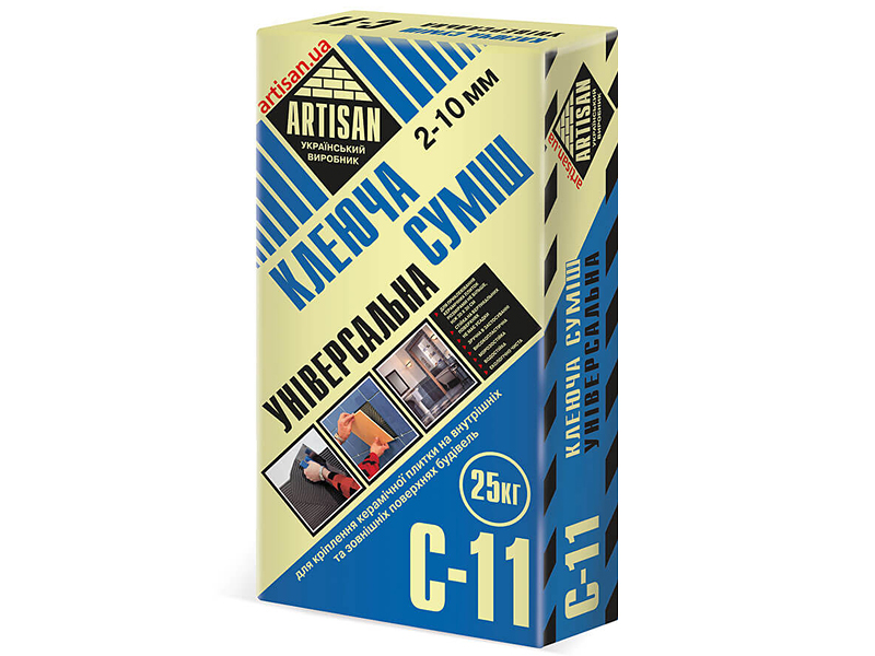 Клеящая смесь универсальная АРТИСАН C-11(25кг)