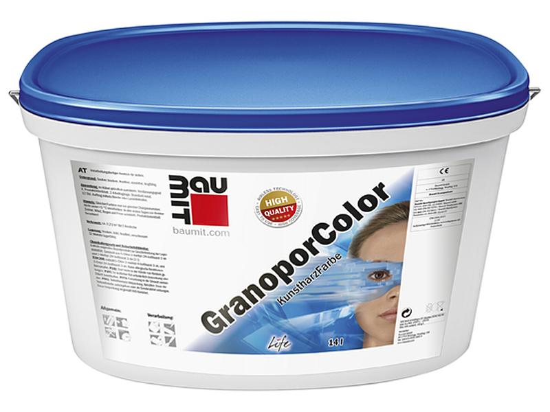 Краска акриловая BAUMIT Granoporfarbe 25кг