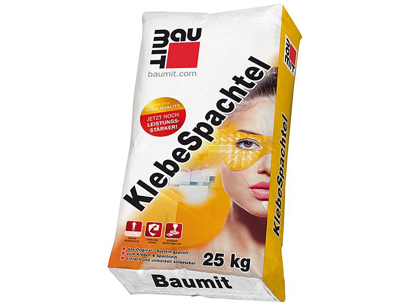Клей на цементной основе BAUMIT Klebespachtel 25кг