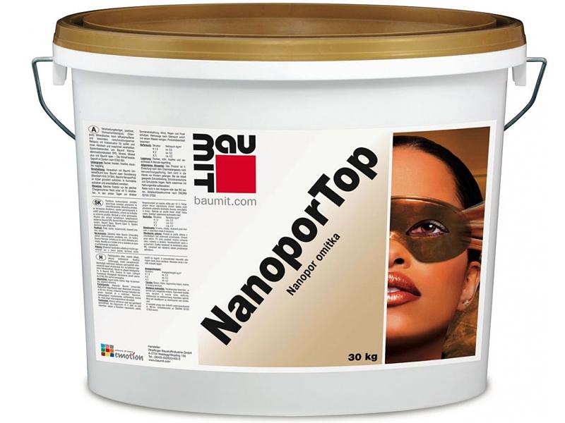 Штукатурка нанопор