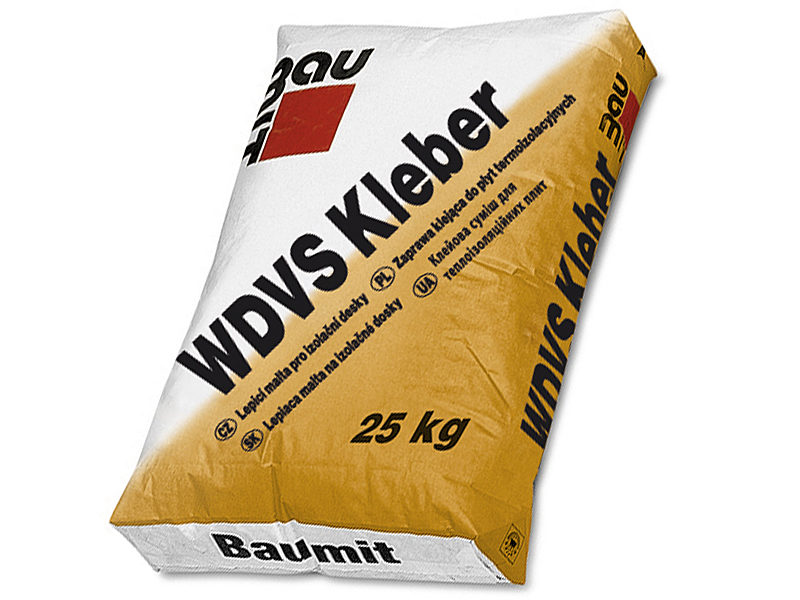 Смесь для крепления пенополистирольных плит BAUMIT WDVS Kleber 25кг