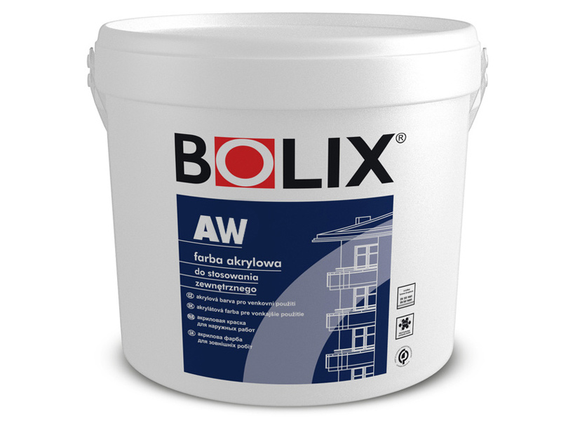 Краска акриловая BOLIX AW Masterpaint база(10л)