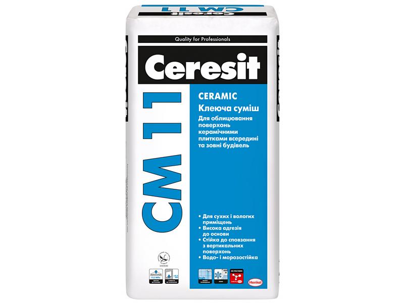 Клей для плитки CERESIT CM 11 25кг