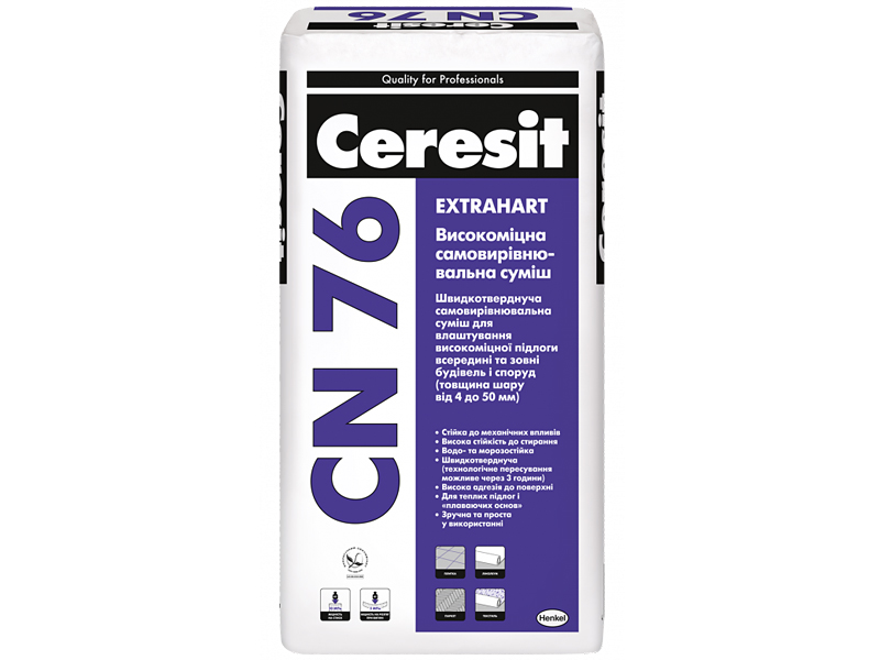 Высокопрочное покрытие для пола CERESIT CN 76 25кг