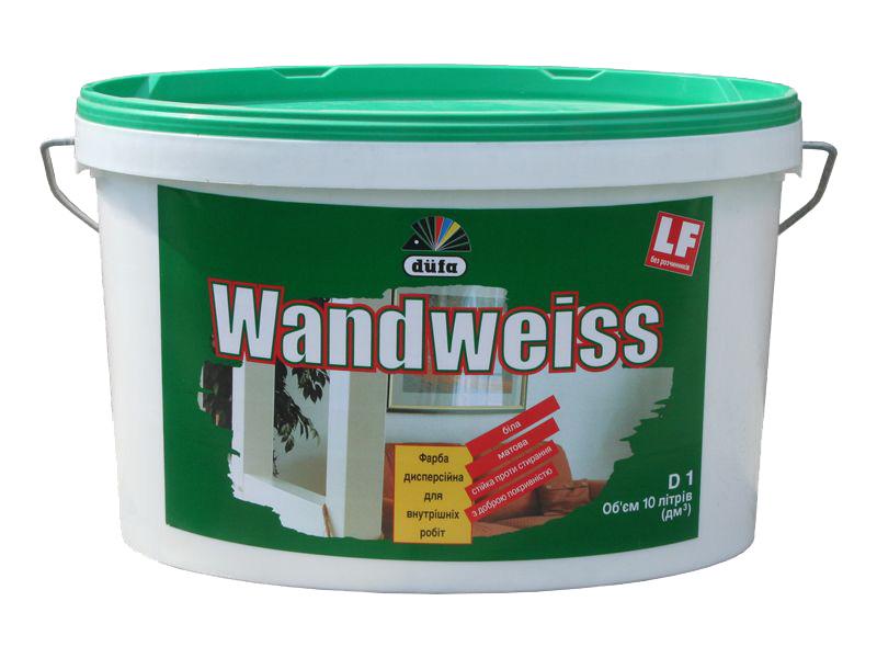 Краска дисперсионная матовая DUFA Wandweiss RD1(5л)