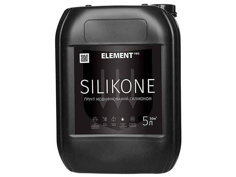 Грунтовка глубокого проникновения ELEMENT Pro Silikone(10л)