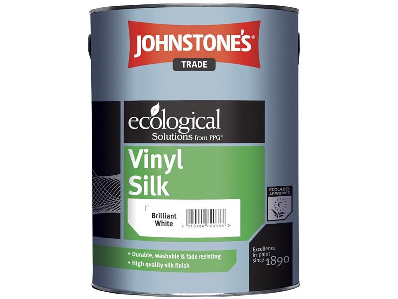 Краска водоэмульсионная шелковистая JOHNSTONE'S Glomul Vinyl Silk Emulsion(5л)