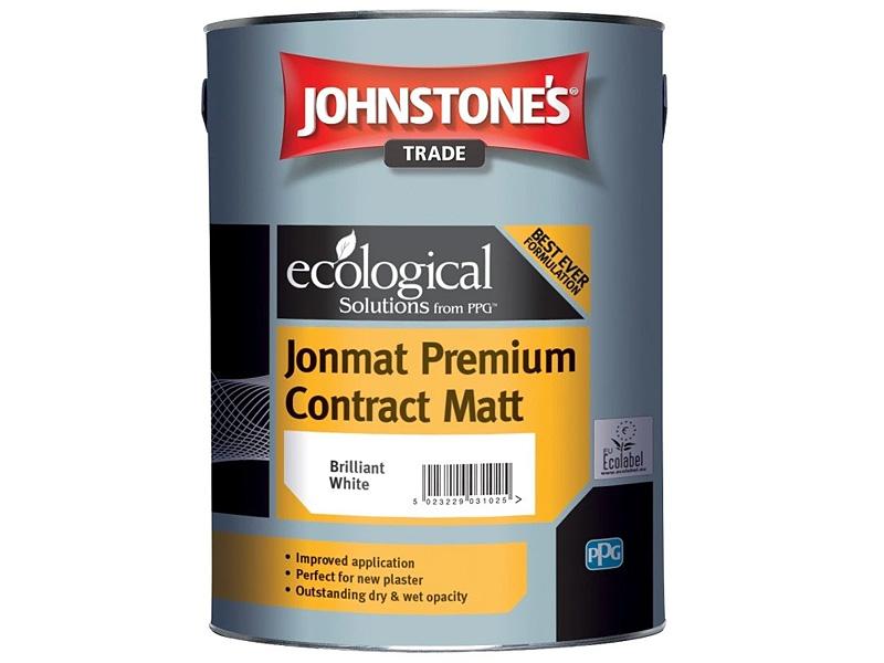 Краска водоэмульсионная матовая JOHNSTONE'S Jonmat Premium Contract Matt(10л)