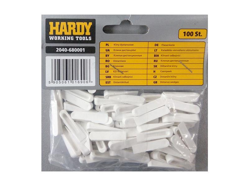 Клинья для плитки HARDY маленькие (100 шт.)