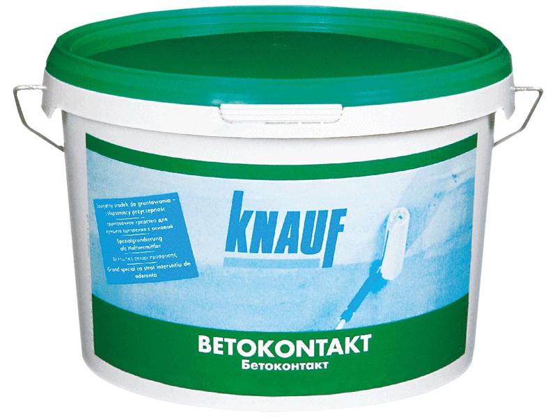 Грунтовка по бетону KNAUF Бетоконтакт 20кг