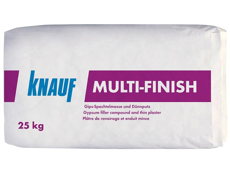 Шпаклевка гипсовая для внутренних работ KNAUF Multi-finish 25кг
