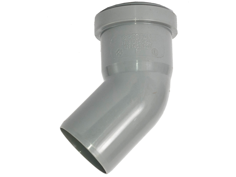 Канализационное колено 110/30