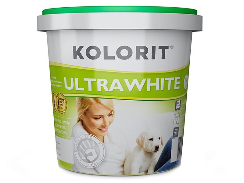 Глубокоматовая краска KOLORIT Ultrawhite(10л)