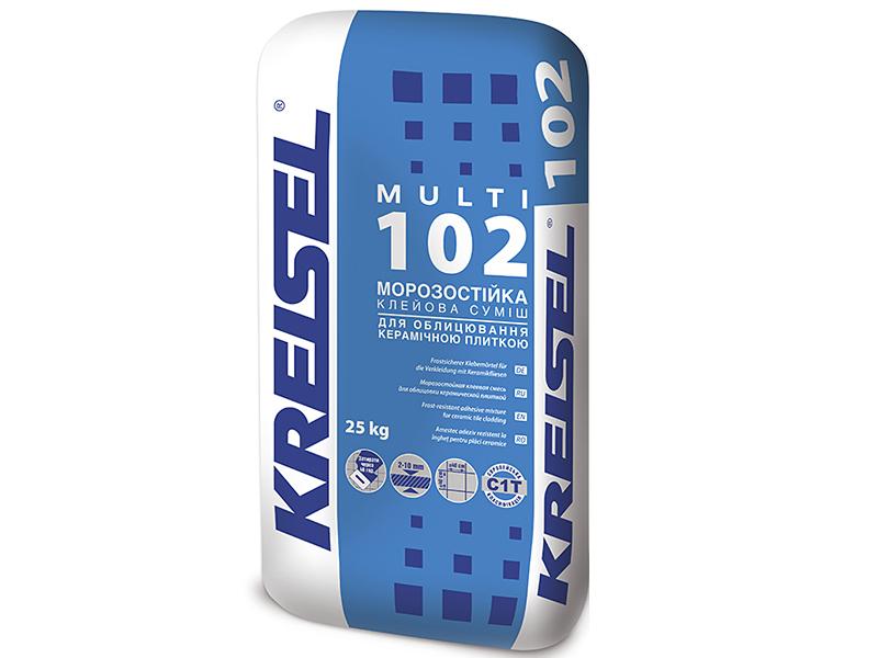 Клей для плитки морозостойкий KREISEL 102 Multi(25кг)