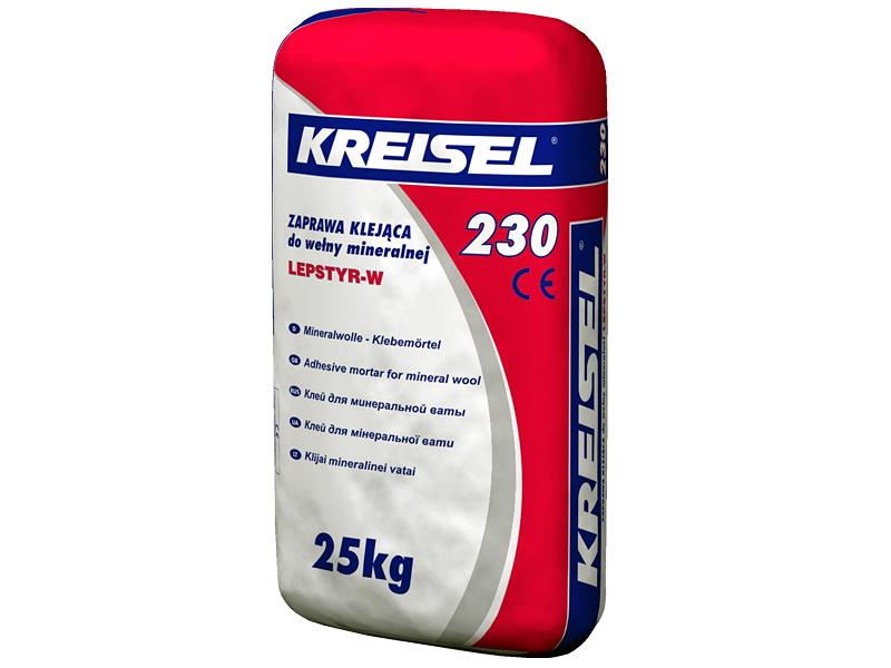 Клей для минеральной ваты KREISEL 230 Lepstyr W(25кг)