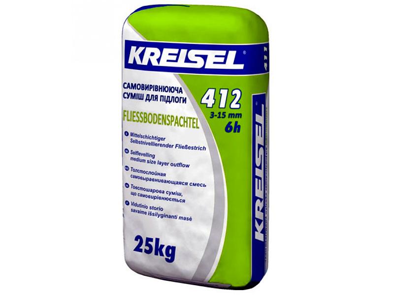 Самовыравнивающаяся смесь для пола KREISEL 412 Fliess-Bodenspachtel