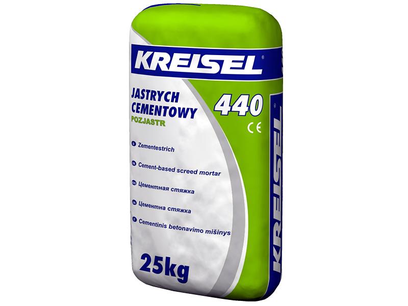 Стяжка цементная KREISEL 440 Estrich Beton(25кг)