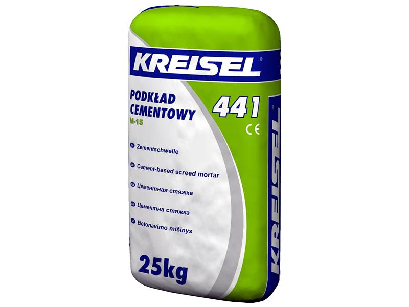 Стяжка цементная KREISEL 441 M-15(25кг)