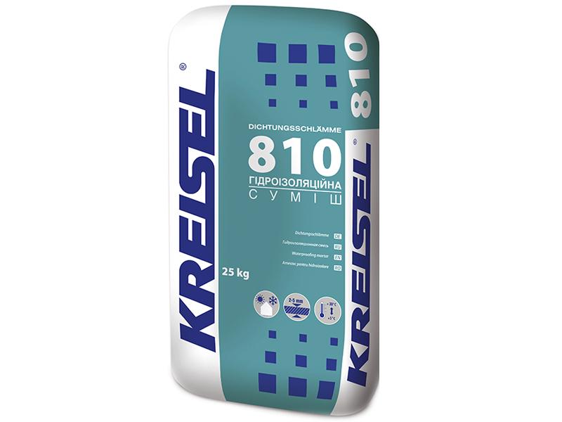 Гидроизоляционная смесь KREISEL 810(25кг)