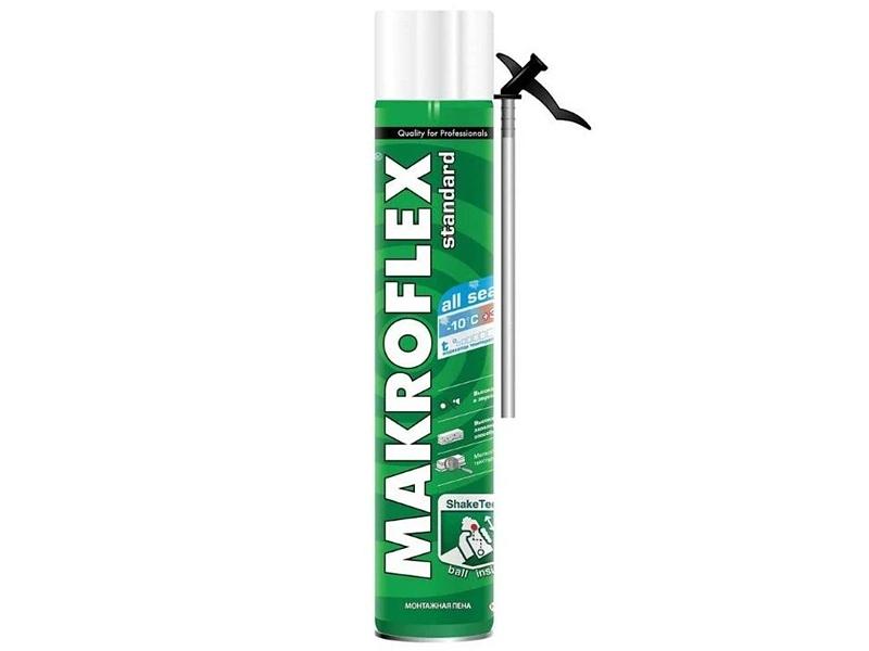 Пена монтажная MAKROFLEX 750мл(всесезонная)