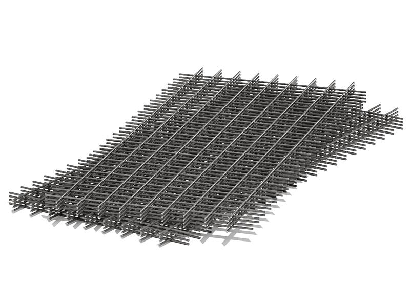 Сетка кладочная 50х50х2.5мм(1 х 2м)