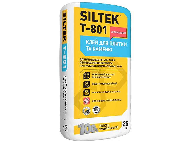 Клей для плитки универсальный SILTEK T-801