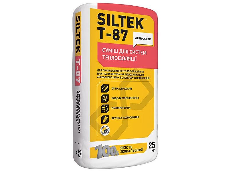 Смесь для армирования минеральной ваты и пенопласта SILTEK T-87
