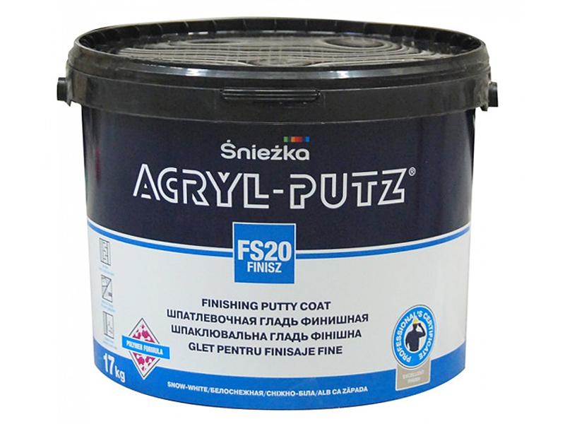 Шпаклевка готовая SNIEZKA Acryl-putz Finisz 8кг