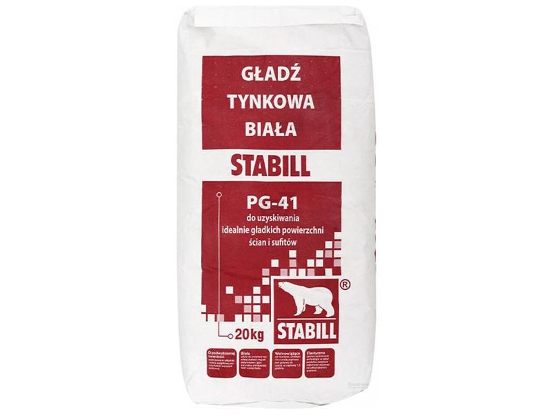 Шпаклевка гипсовая финишная STABILL PG-41