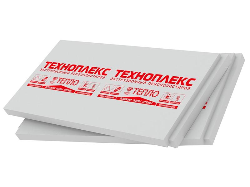 Экструдированный пенополистирол ТЕХНОНИКОЛЬ Техноплекс(50мм)