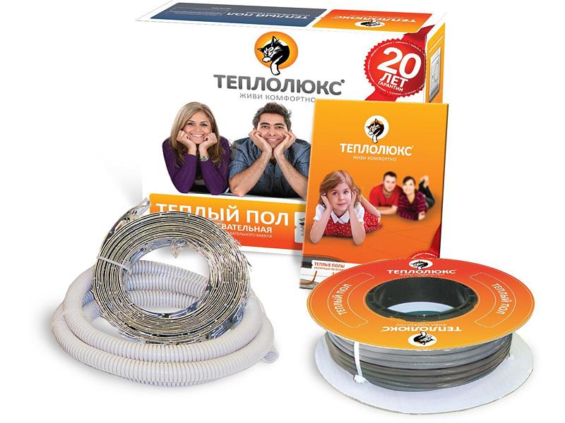 Теплый пол одножильный ТЕПЛОЛЮКС 20 ТЛОЭ 2-30(0,59 кВт)