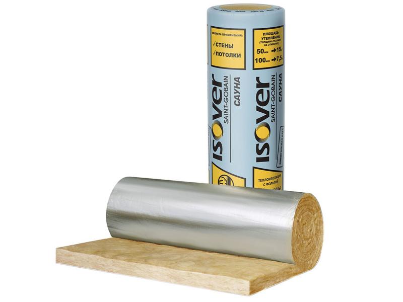 Утеплитель ISOVER сауна 50 мм, 15 м²