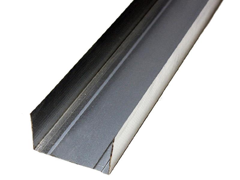 Профиль для гипсокартона UW-75(4м) 0,45мм