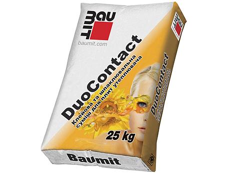 Смесь для крепления пенополистирольных плит BAUMIT DuoContact 25кг