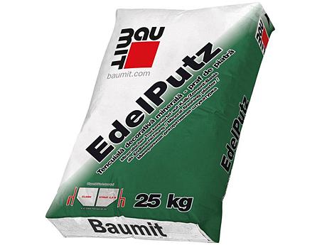 Штукатурка минеральная BAUMIT Edelputz Extra 25кг