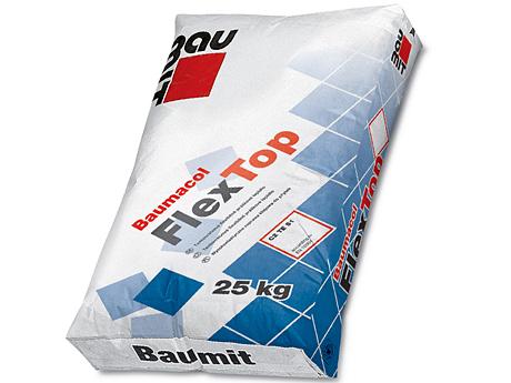 Клей для плитки эластичный BAUMIT Baumacol FlexTop