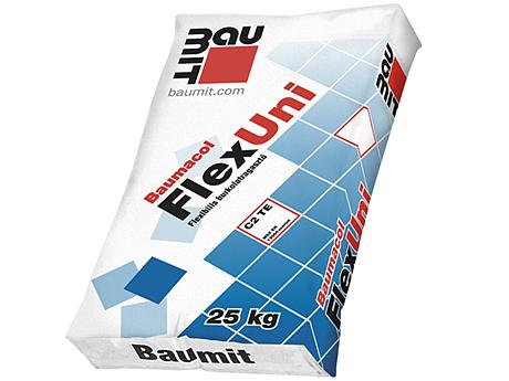 Клей для плитки эластичный BAUMIT Baumacol FlexUni