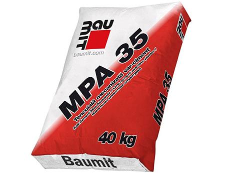 Штукатурка машинная BAUMIT MPA 35 40кг