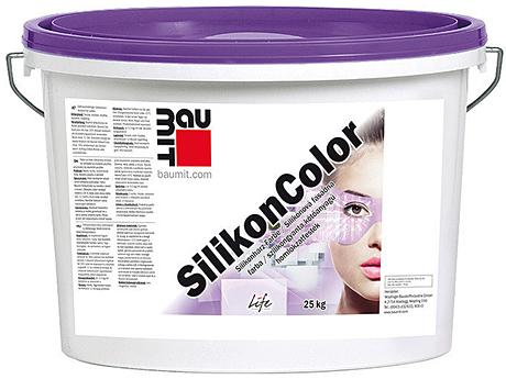 Краска силиконовая BAUMIT Silikonfarbe 25кг
