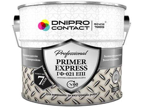 Грунт DNIPRO CONTACT ГФ-021(серый) 2,8кг