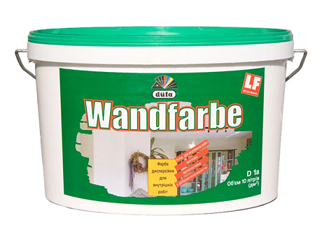 Краска дисперсионная матовая DUFA Wandfarbe RD1a(5л)