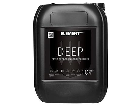 Грунтовка глубокого проникновения ELEMENT Pro Deep(5л)