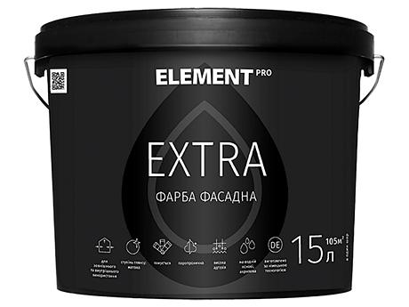 Фасадная краска ELEMENT Pro Extra База А(1л)