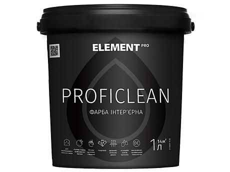 Износостойкая латексная краска ELEMENT Pro Proficlean(15л)