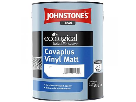 Краска водоэмульсионная матовая JOHNSTONE'S Covaplus Vinyl Matt Emulsion(2,5л)
