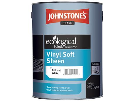 Краска водоэмульсионная полуматовая JOHNSTONE'S Vinyl Soft Sheen Emulsion(10л)
