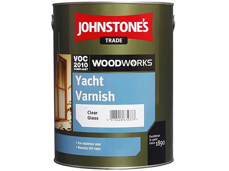 Лак на растворителе JOHNSTONE'S Yacht Varnish(0,75л)