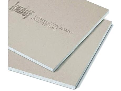 Гипсокартон потолочный KNAUF 2,5 x 1,2(9,5мм)