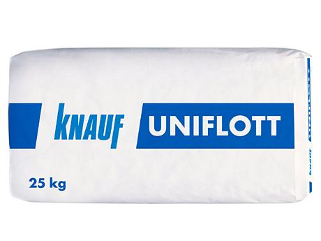 Шпаклевка гипсовая универсальная KNAUF Uniflot 25кг
