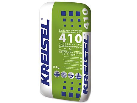 Самовыравнивающаяся смесь для пола KREISEL 410 Fliess-Bodenspachtel(25кг)